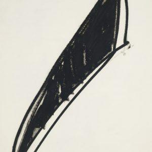 Richard Serra, Untitled, 1970, Oilstick on paper, 105 x 76 cm