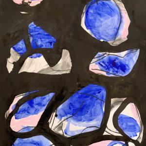 Merijn Kavelaars, HK Untitled B01, 2019, Mixed Media on acid free recycled paper , 42 x 29 cm