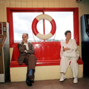 M. Parr, GB. England. Paignton. from 'Bored Couples', 1992, 72 x 61 cm, color print Ed.25