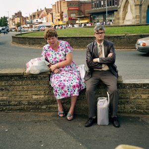 M. Parr, GB. England. Skegness. from 'Bored Couples', 1992, 72 x 61 cm, color print Ed.25
