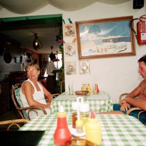 M. Parr, Spain. Majorca. from 'Bored Couples', 1993, 72 x 61 cm, color print, Ed.25