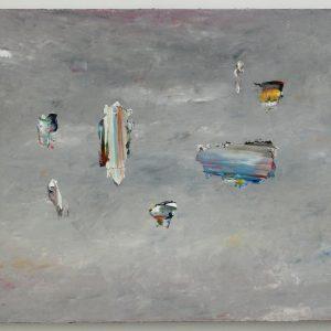 Anna Leonhardt, I'm walking, 2018, oil on linen, 71 x 99 cm